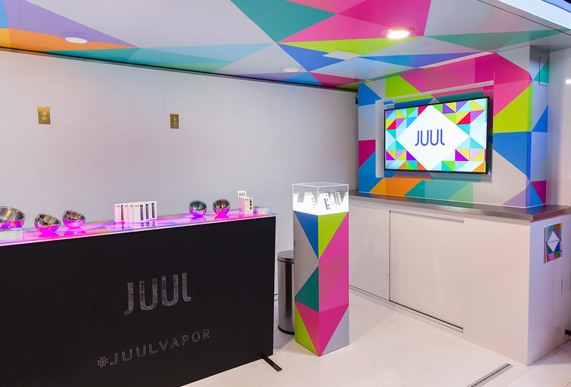 The JUUL Vapor Lounge @ NYC