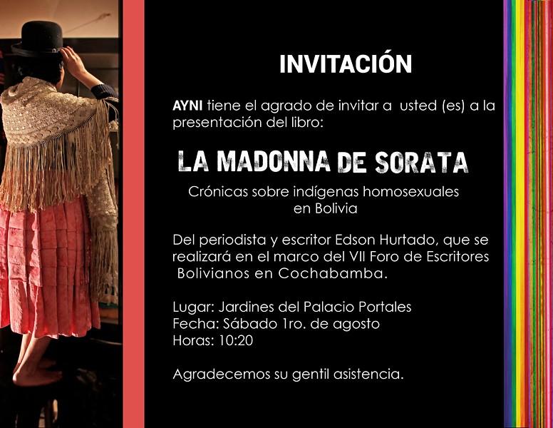 INVITACIÓN COCHABAMBA