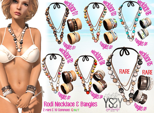 Rodi Necklace & Bangles @ OhMyGacha