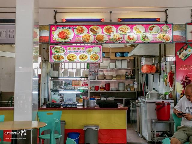 Blk 86 Bedok Western Food 85-Stall