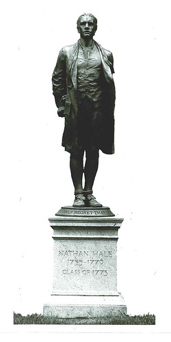 Nathan Hale, by BLP at Yale, 1913, sm