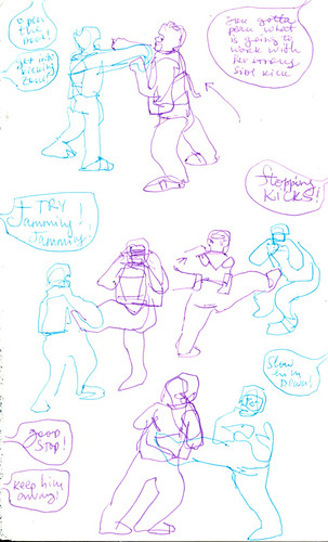 Sketchbook #90: My Life Drawing Class