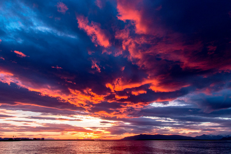sundown reykjavik