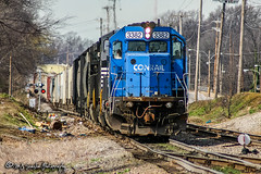 NS 3382 | EMD SD40-2 | NS Memphis District