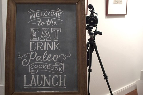 Eat Drink Paleo book launch
