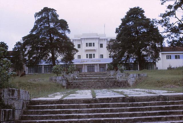 Dalat 1970 - Palace Hotel