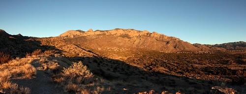 Panorama of the Sandias
