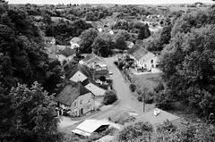 Hameau de Roche et Bucey-les-Gy en N&B