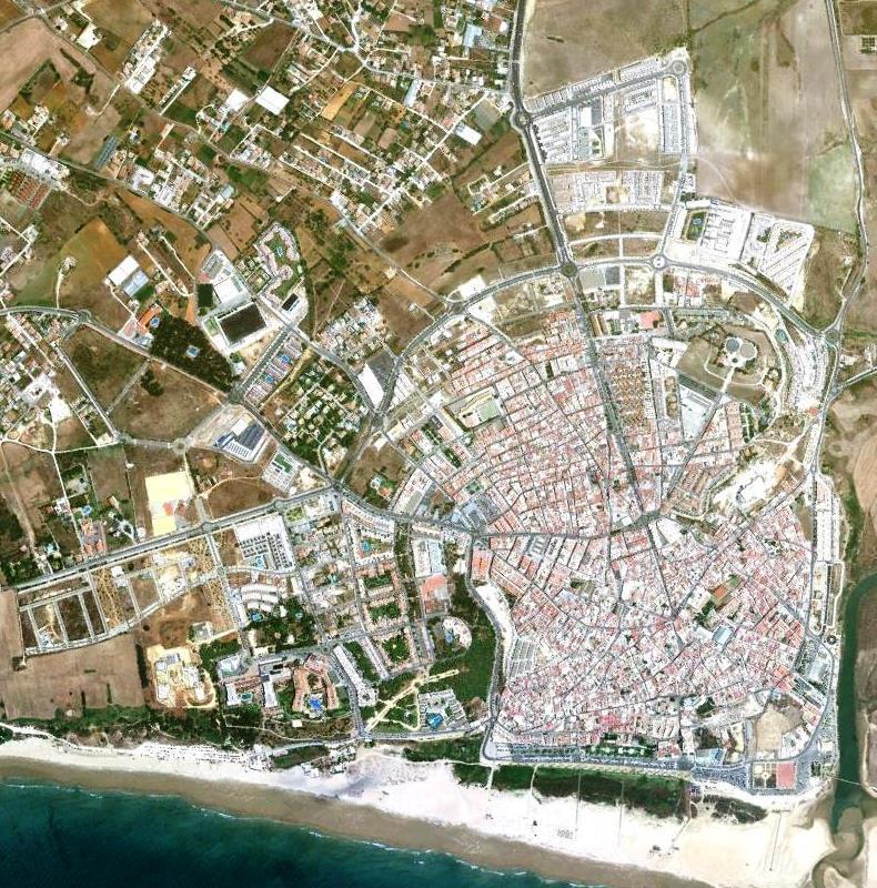 playa, litoral, conil, conil de la frontera, málaga, andalucía, 2010, después, desastre, urbanístico, planeamiento, urbano, construcción, urbanismo