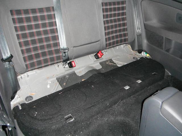 Vwvortex Com Diy Back Seat Removal Mkv Gti Rabbit With