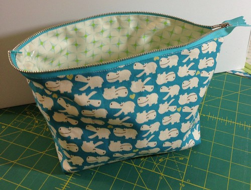 Open Wide Pouch pattern by Noodlehead