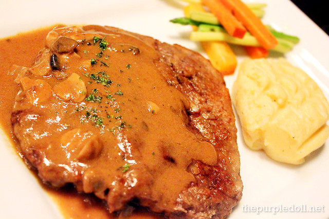 Chicken Fried Steak (P390)