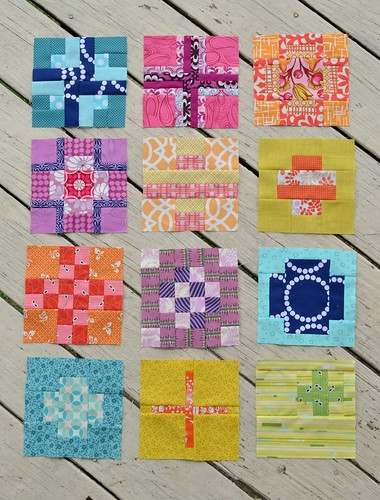 Tula City Sampler blocks 1-12