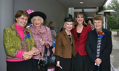The Sisters of St Louis League in California at a fundraising event