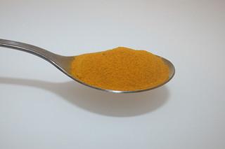 17 - Zutat Kurkuma / Ingredient curcuma