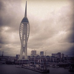 Almost home... @spinnakertower