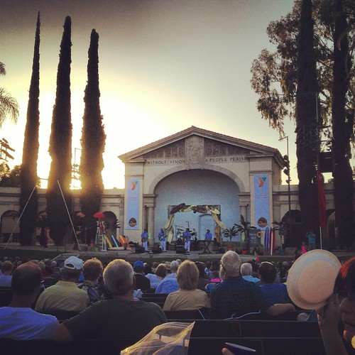 Redlands Bowl - Beach Boy concert by Rob Elkins