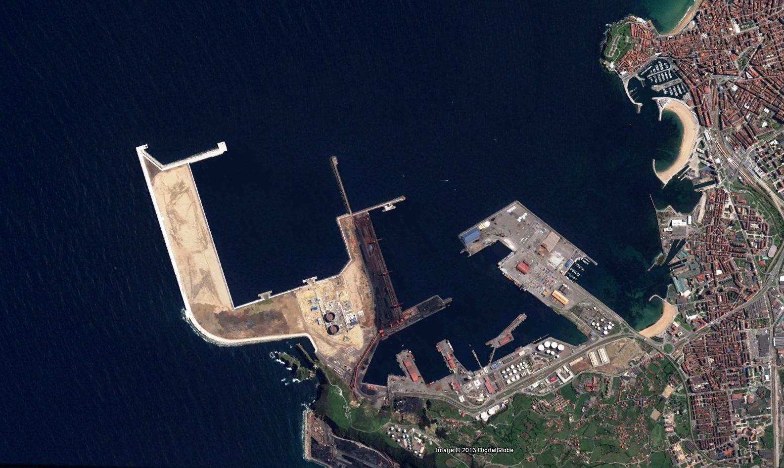 Naci n rotonda puerto de gij n asturias - Puerto de gijon empleo ...