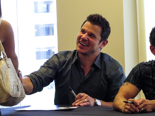 Nick Lachey - 98 Degrees - Pre-show VIP meet & greet