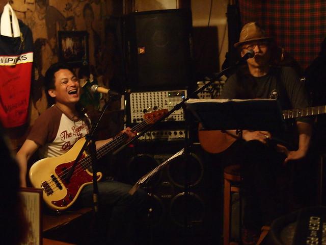MACOTO & YOSHITAKA live at The Warrior Celt, Tokyo, 05 Jul 2013. 026
