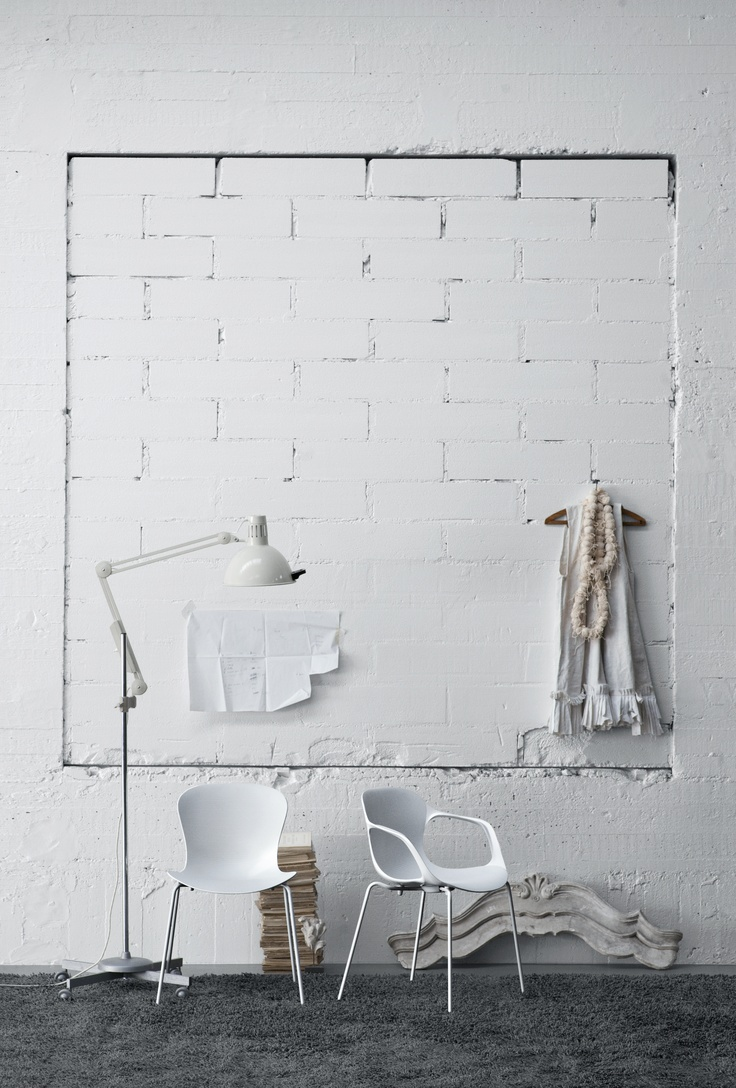 White Brick Wall Lights : I'm Loving: White Brick Walls - decor8