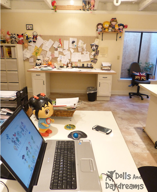 Sewing Room Make Over DIY Dolls And Daydreams 4A