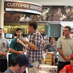 Barnes & Noble LEGO Architecture Event
