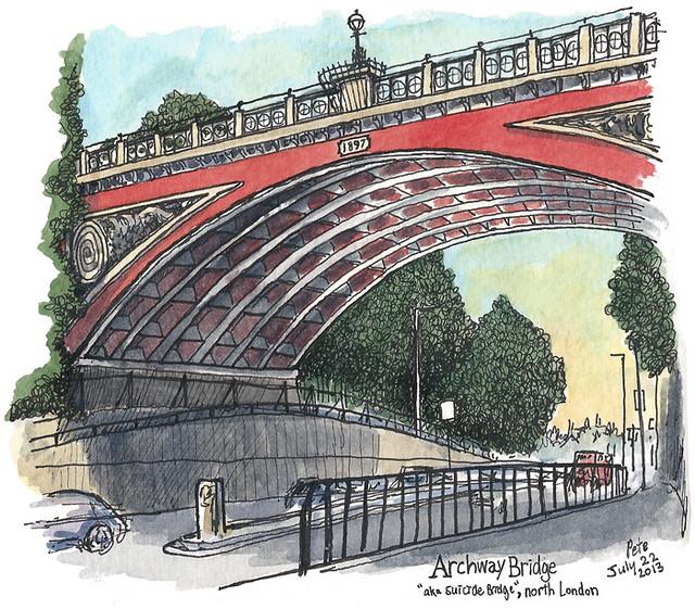 """""""Suicide Bridge"""", Archway"""