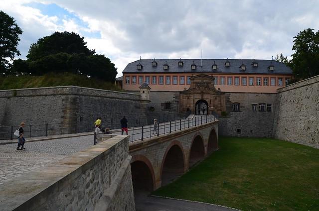 Peterstor der Zitadelle Petersberg in Erfurt