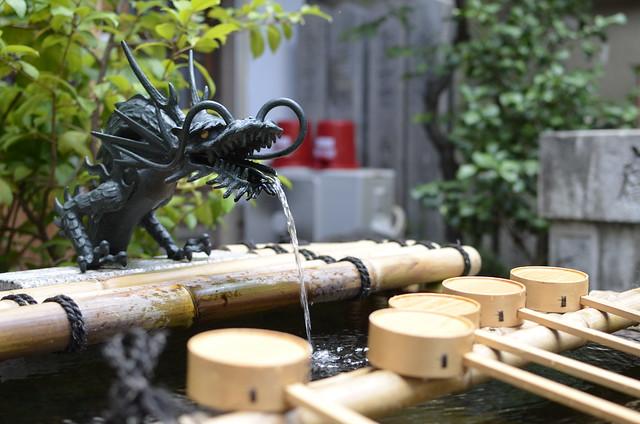 Temizuya dragon
