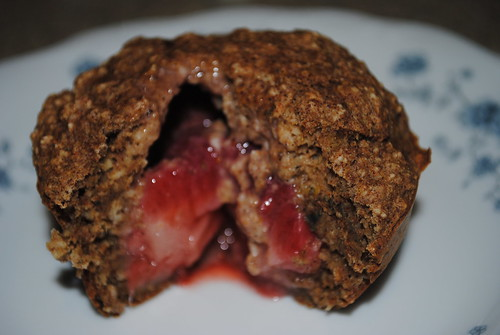 Cinnamon- Almond Fruity Surprise Muffins (9)