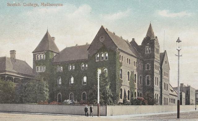 10. Scotch College, circa 1906.