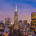 downtown SF night by John Hudson Photo