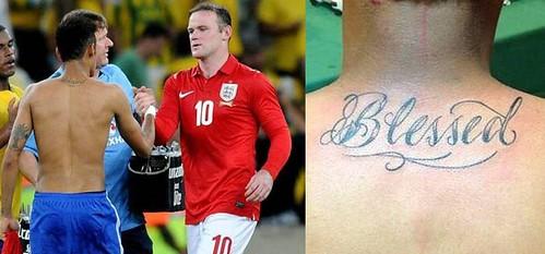 tatuaje-Neymar-cuello-Blessed