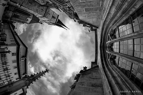 Erfurt in B&W by Zdenek Papes