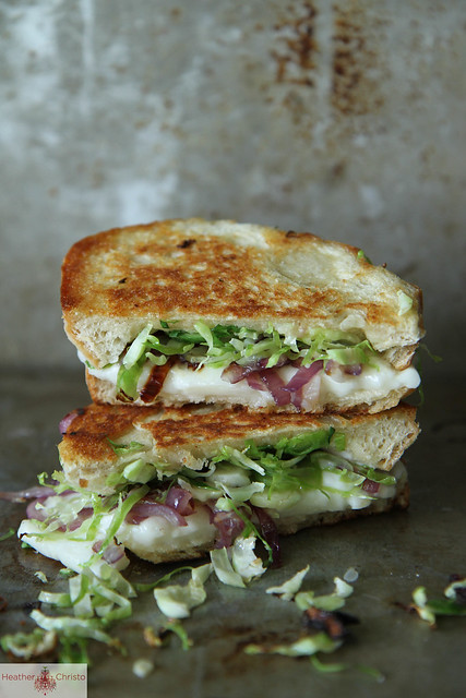Brussels Sprouts Grilled Cheese Sandwich