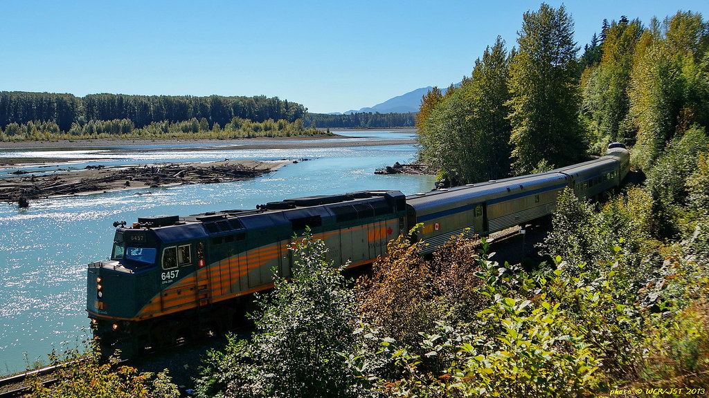 Via rail canada photos and discussion west coast for 22 river terrace building link