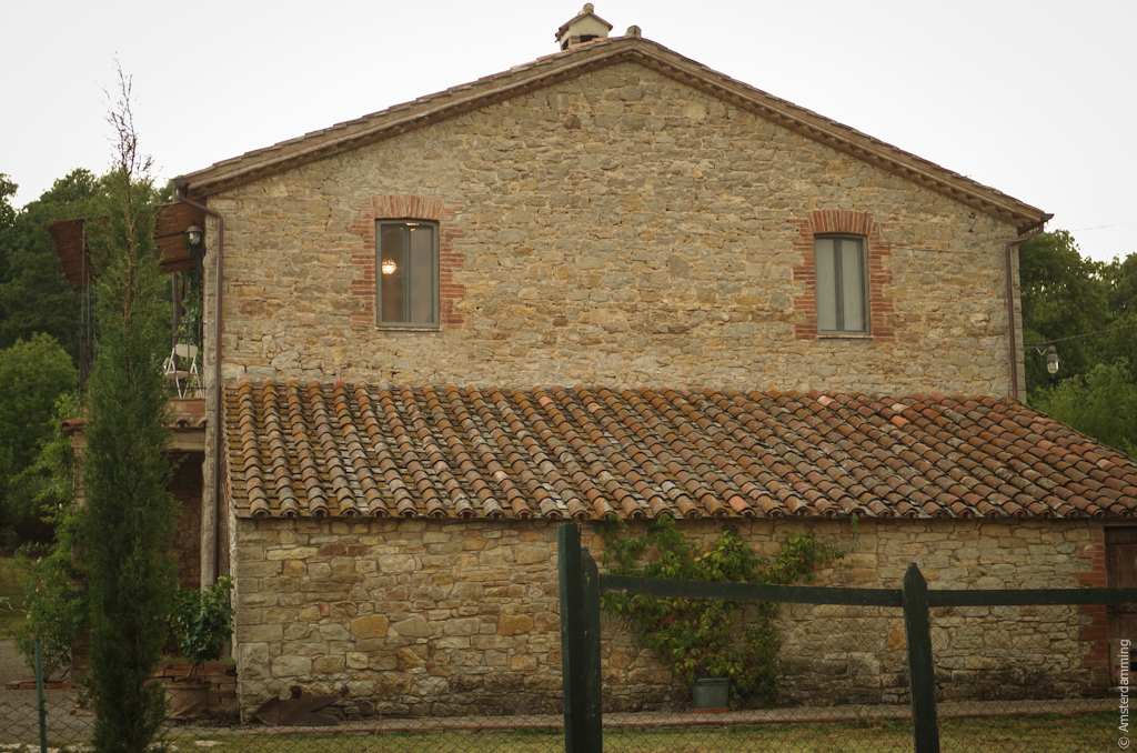 Italy, Umbrian Old Farmhouse