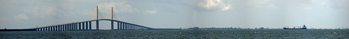 bridge sea panorama usa america boat unitedstates tampabay florida places panasonic coastal sunshineskyway sunshineskywaybridge terraceia tampabayarea panasonicdmcfz38 dmcfz38 bobgrahamsunshineskywaybridge