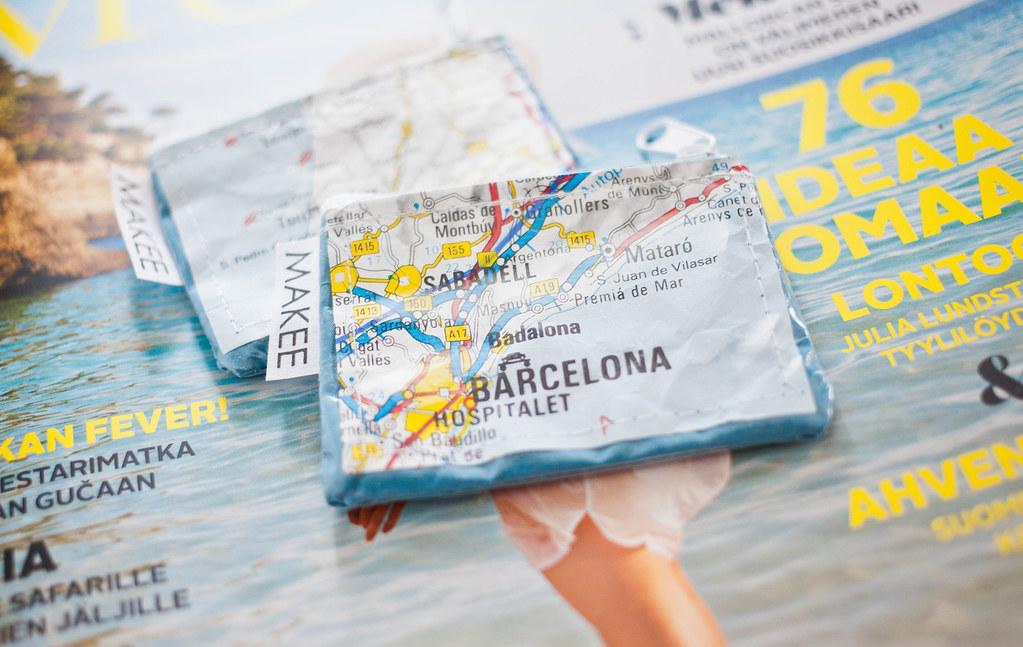 MAKEEdesign - karttapaperipussukat