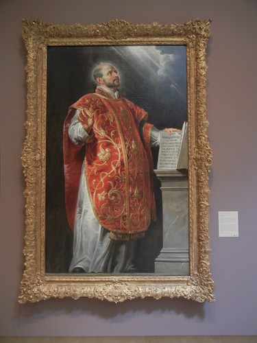 DSCN7643 _ St. Ignatius of Loyola, c. 1620-1622, Peter Paul Rubens (1577-1640), Norton Simon Museum, July 2013