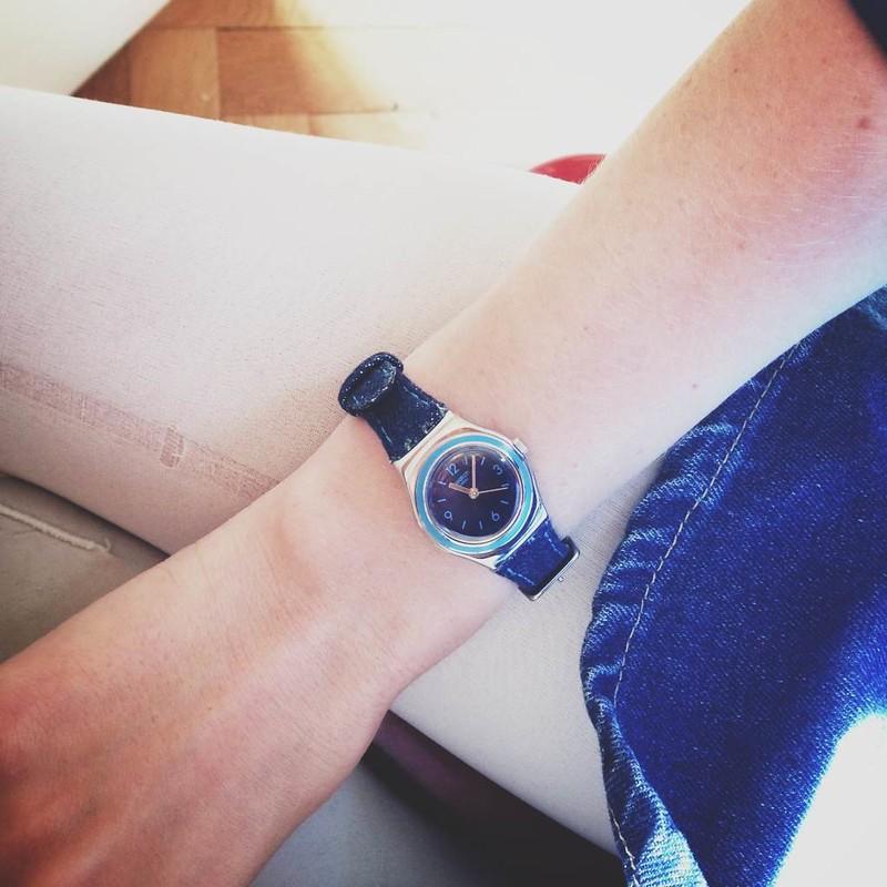 swatch watch.