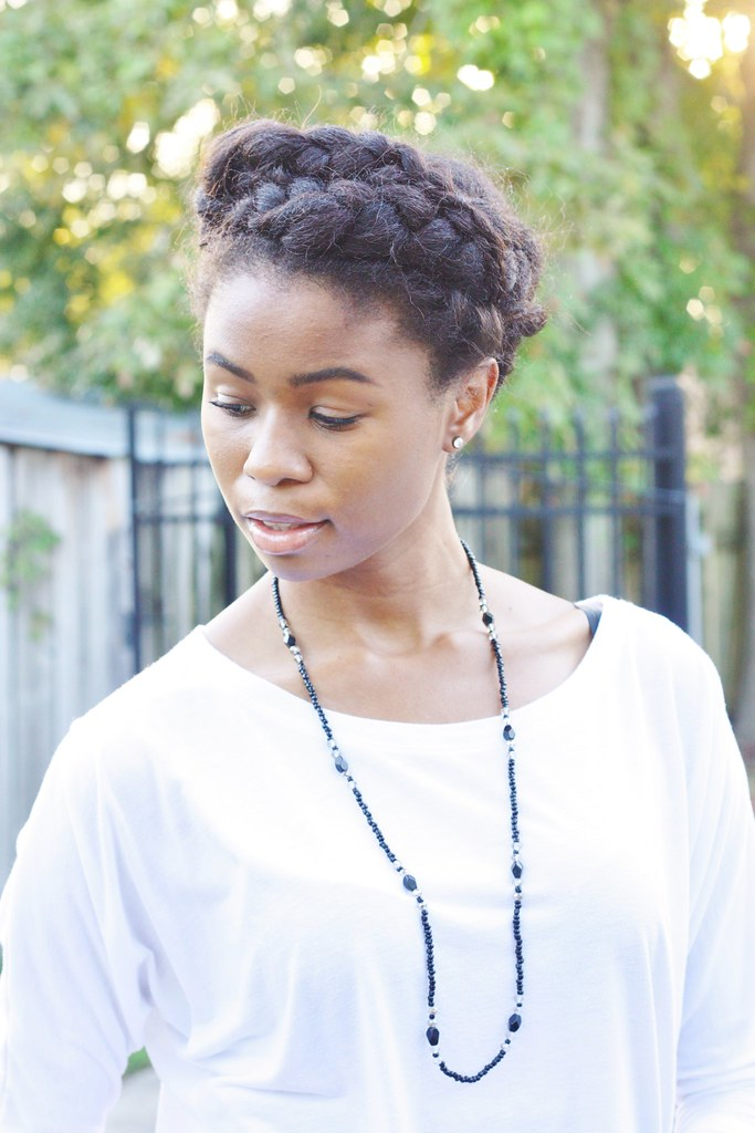 Protective Style French Braid Cross
