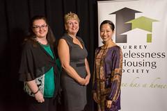 SHHS Staff, Sherri Magson, Vera LeFranc, and Sandra Yip