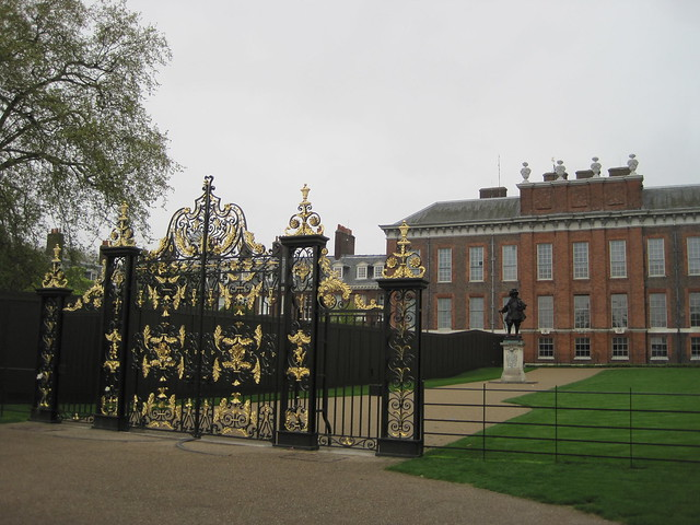 Princess Diana Gate at Kensington Palace