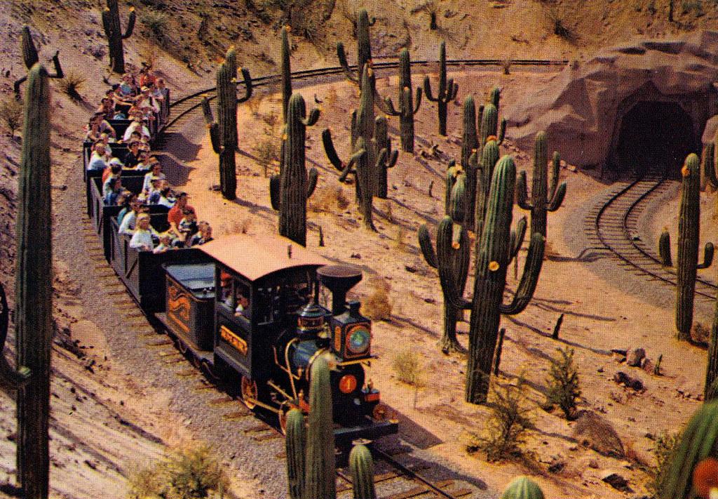 1957 Frontierland - Mine Train Through Nature's Wonderland