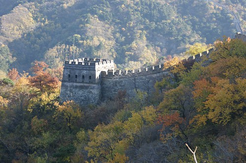 One Guard Tower in Mutianyu