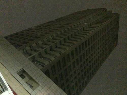iPhone 5s ビル夜景