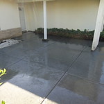 Salt Finish Front Yard Patio In Vacaville