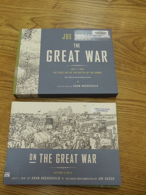 Joe Sacco's The Great War: July 1, 1916: the first day of the Battle of the Somme